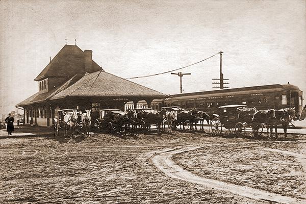 Hudson's Chicago Northwestern Depot