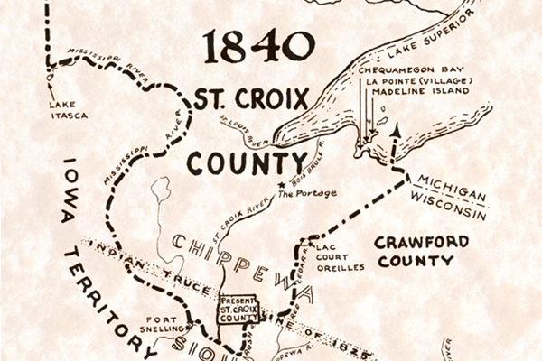 St. Croix County 1840