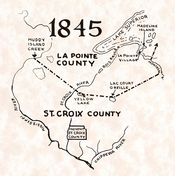 St. Croix County 1845