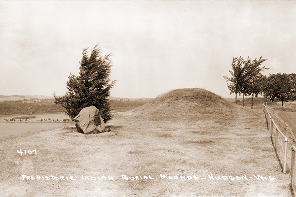 Hudson's Indian Burial Mounds