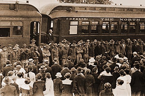 Hudson's WWI Troops
